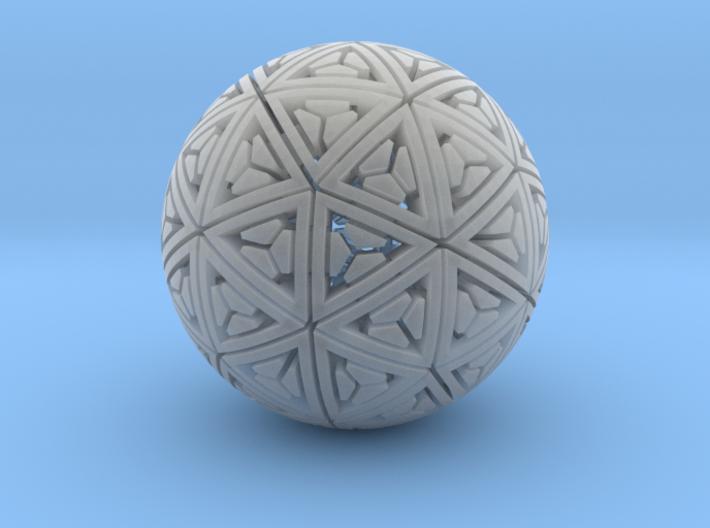 Soft-Boiled Geodesic (2.7cm) 3d printed
