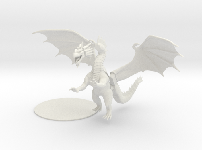 Red Dragon Updated (split up) 3d printed