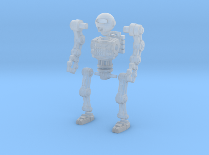 28mm Robot 2 testing 3d printed