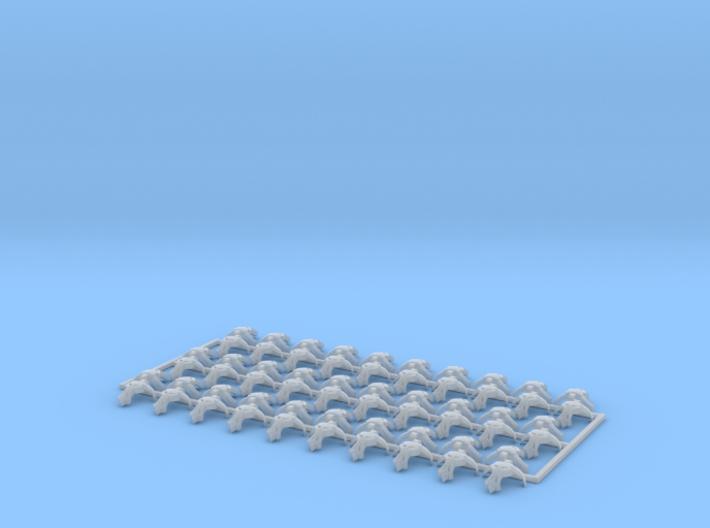 60x Minotaurs : Shoulder Insignia pack 3d printed