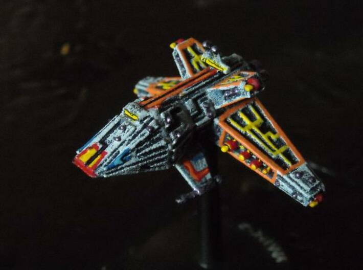 VA203 Vicious Meteor Heavy Cruiser 3d printed Painted model