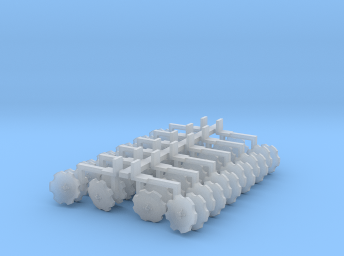 Orthman Bedder Units (12) 3d printed