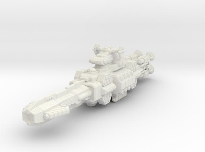 Chukulak Battlecruiser 3d printed