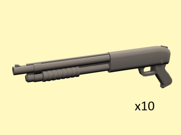 28mm Pump-action shotguns 3d printed
