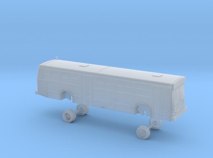 New Flyer D40; AC Transit bus 2500 series 3d printed