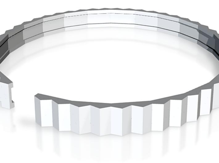 Lodret - Small plastic bracelet. 3d printed