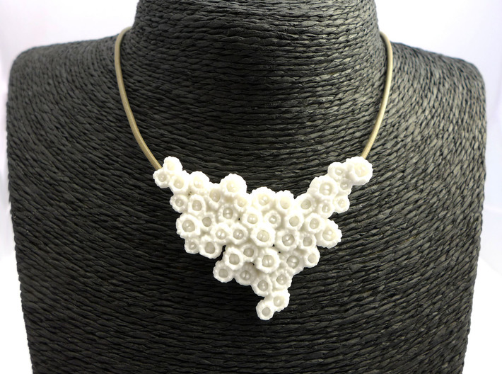 Barnacle Pendant - Nature Jewelry 3d printed