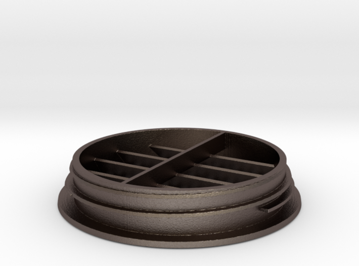 CHEAP TOYOTA HIACE ROOF AIR CONDITIONING VENT 05 - 3d printed