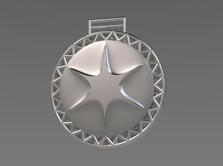 Shapeways Medal 3d printed
