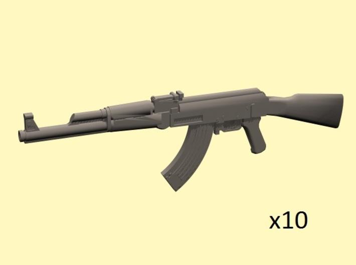 1/35 AK-47 assault rifles 3d printed