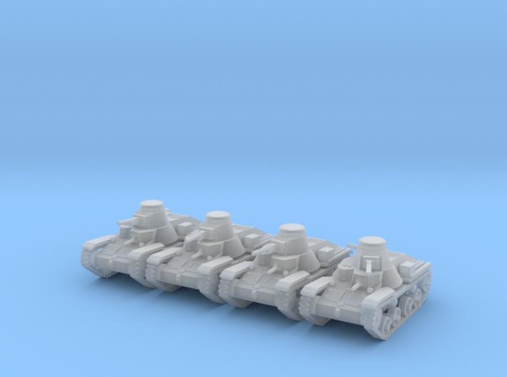 1/144 Ha-Go Type-95 tank 3d printed