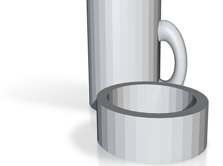 Mug With A Lid 3d printed