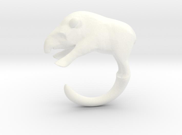 Tapir Ring 3d printed