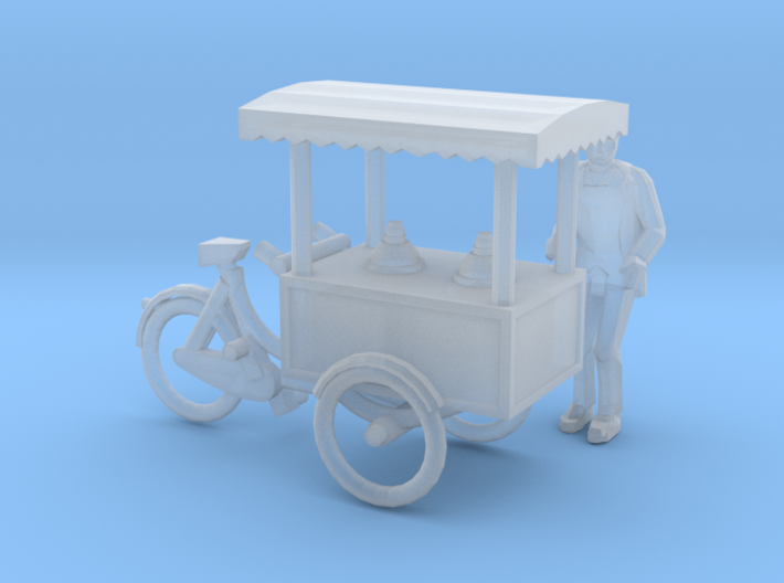 Ice cream tricycle (TT 1:120) 3d printed