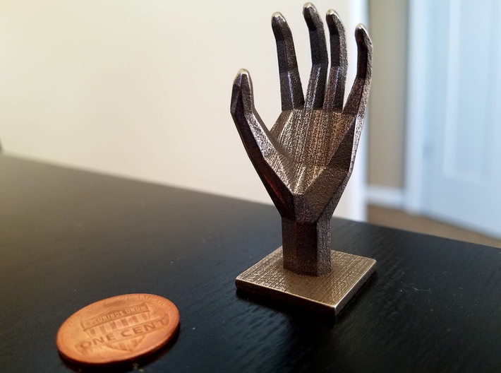 Polyhedral Hand 3d printed
