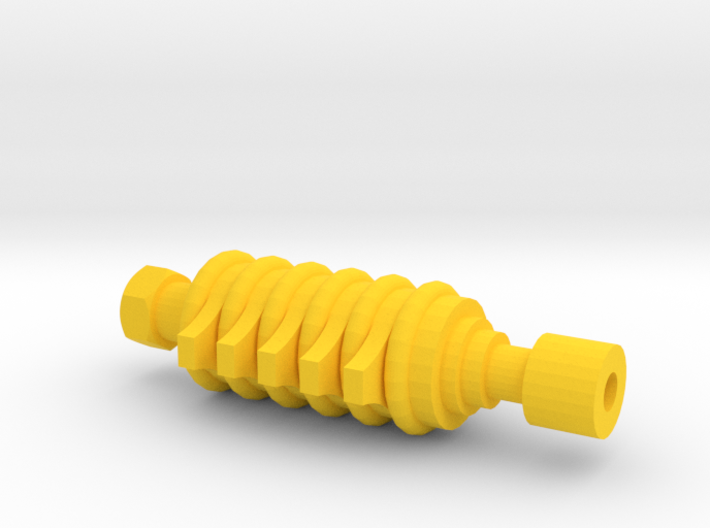 ARG Airsoft Muzzle Tip (14mm-) 3d printed