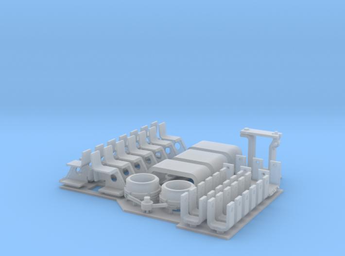 Panther G detailing set 1:16 3d printed