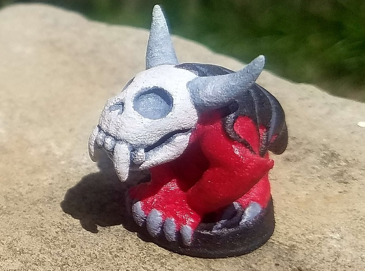 Stygian Hellbeast (Chthonic Souls Edition) 3d printed