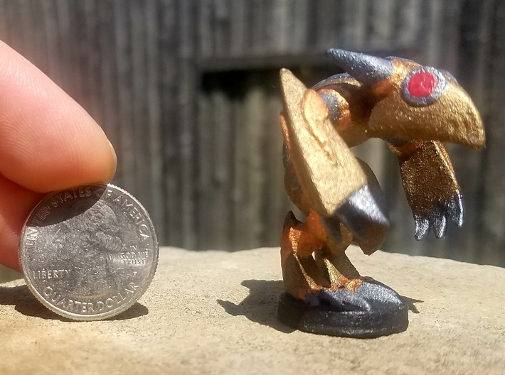 Kobold Warengine (Chthonic Souls Edition) 3d printed