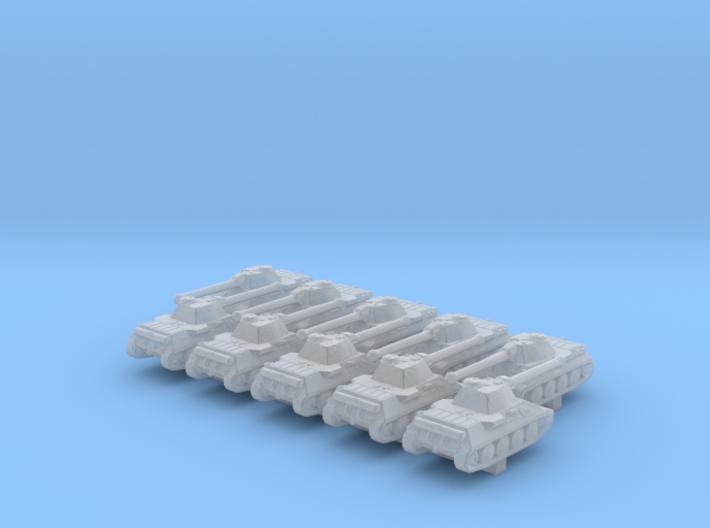 1/700 German VK 30.01 (D) Medium Tank x10 3d printed 1/700 German VK 30.01 (D) Medium Tank x10