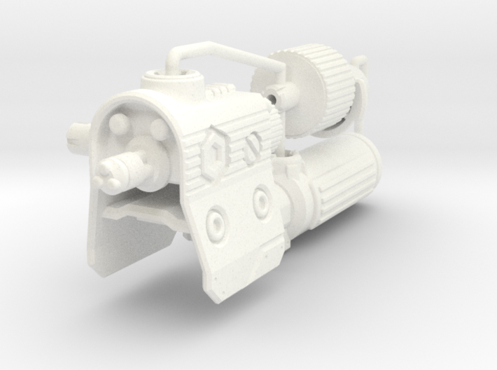 Fusion Cannon for TR Megatron 3d printed