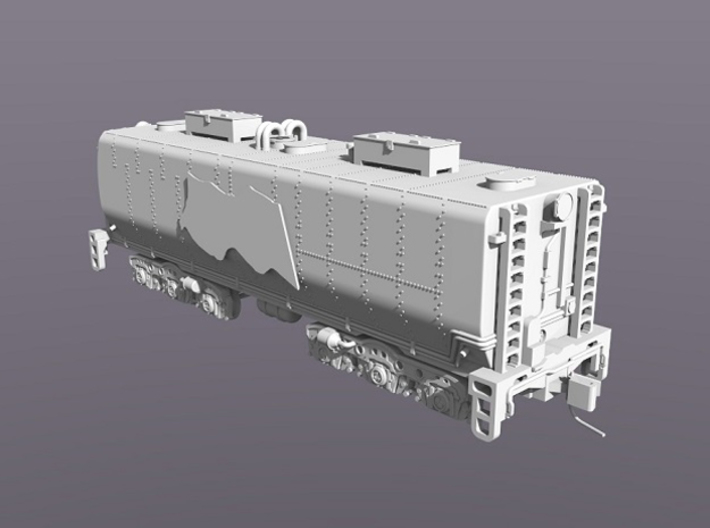 UP Water Tenders N Scale 1:160 Jim & Joe 3d printed