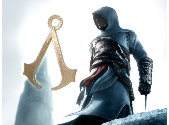 Assassin's Creed Pendant 3d printed