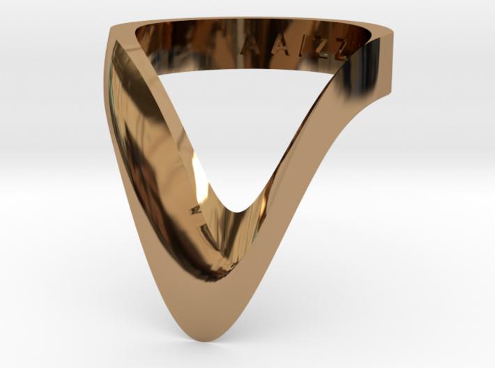 VATA PRECIOUS brass + bronze + gold plated 3d printed