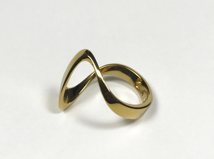 ZEPHYR PRECIOUS 14k gold plated 3d printed