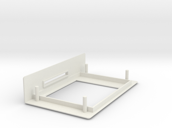 1.8 TFT Display Module Bezel + SD Slot 3d printed