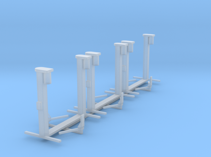 1/87 H0 scale car lift Hebebühne set of 3 3d printed