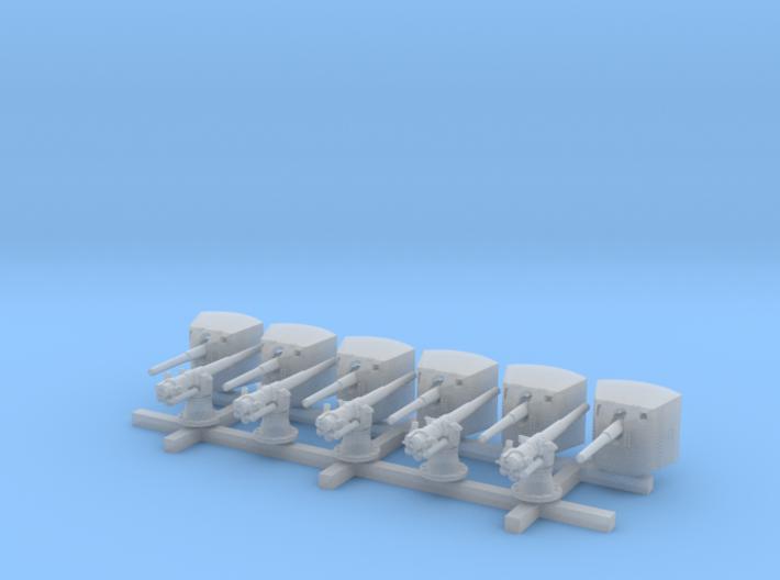 1/350 SMS Emden 10.5cm/40 SK L/40 Guns 3d printed 1/350 SMS Emden 10.5cm/40 SK L/40 Guns