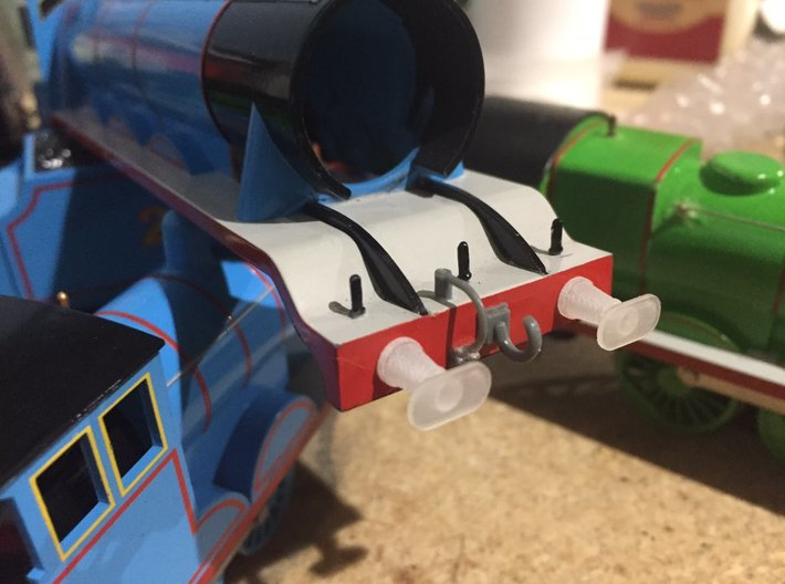 00/H0 Replacement Buffers - NWR #4 (A4) 3d printed Actual picture of printed buffers. Photo by Zara21king: https://twitter.com/Zara21king