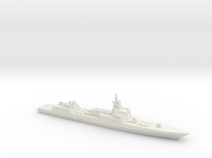 055 Destroyer (2017), 1/1800 3d printed