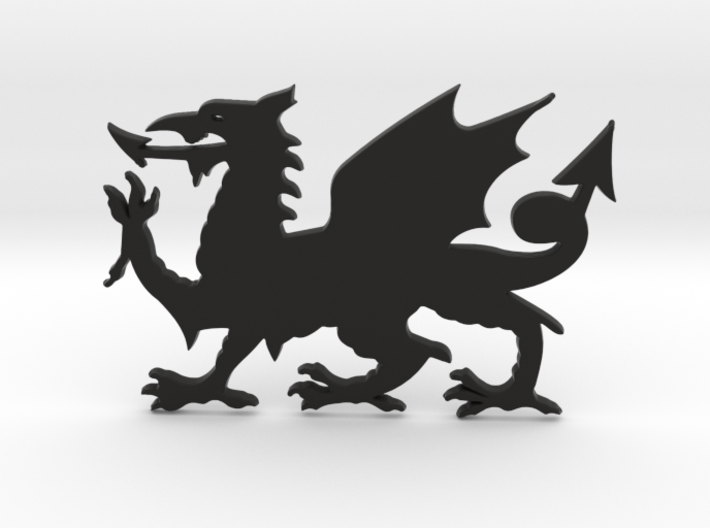 Welsh Dragon for Henry Morgan 3d printed