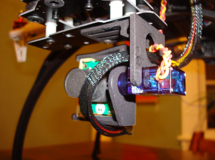 FPV Servo Mount 3d printed Left (note notch required)