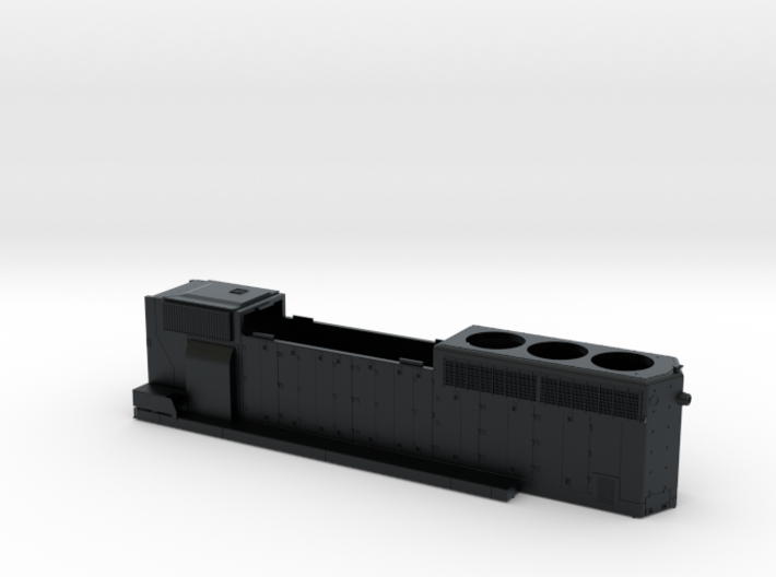 CN 5241-5278 SD40-2W (modified) Hood 1/87.1 3d printed