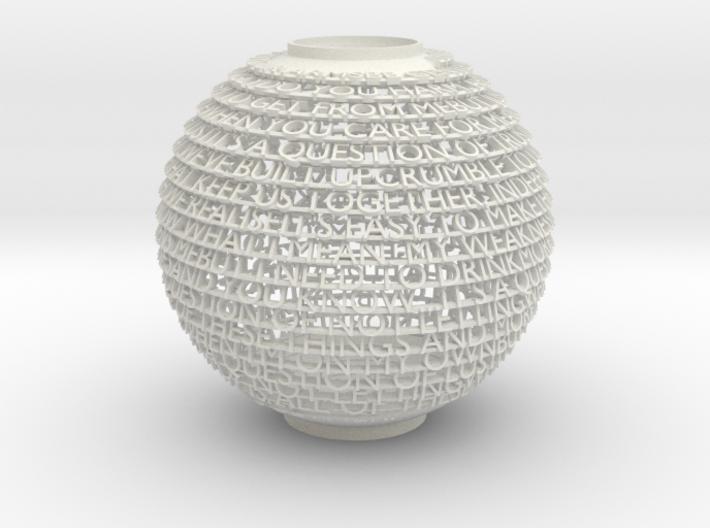 Customizable Spherical Vase 3d printed