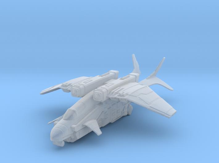VTOL Dropship Miniature 3d printed