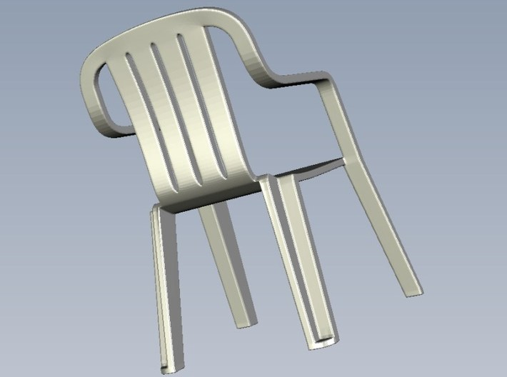1/35 scale plastic chairs set x 15 3d printed