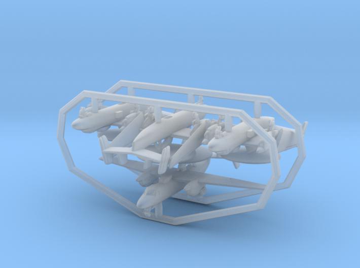 1/700 E-2C w/gear x4 (FUD) 3d printed