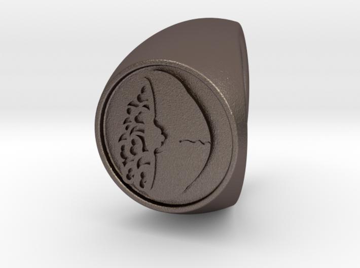 Custom Signet Ring 52 3d printed