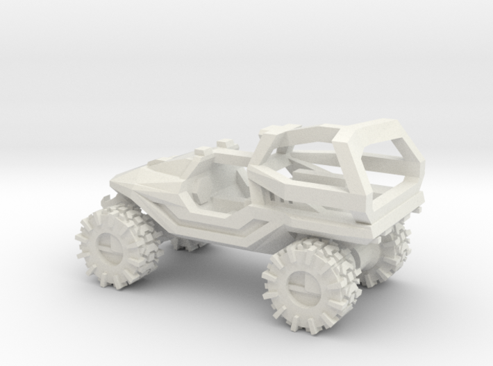 All-Terrain Vehicle with Roll Over Protection (ROP 3d printed