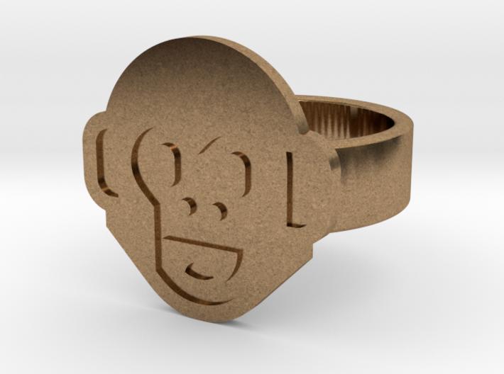 Monkey Ring 3d printed