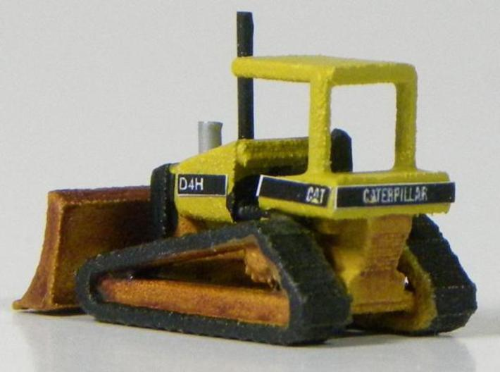 Caterpillar D4H Bulldozer - Z scale 3d printed Painted model by StoneBridgeModels.com