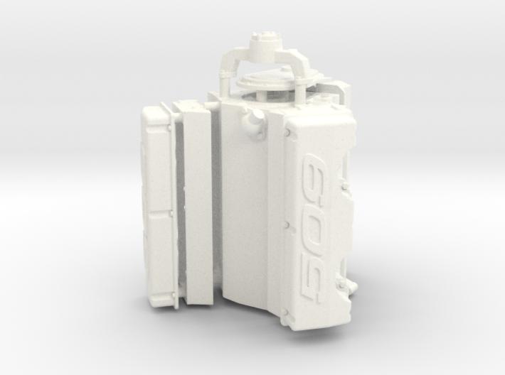 Brodix 1/12 509 Engine 3d printed
