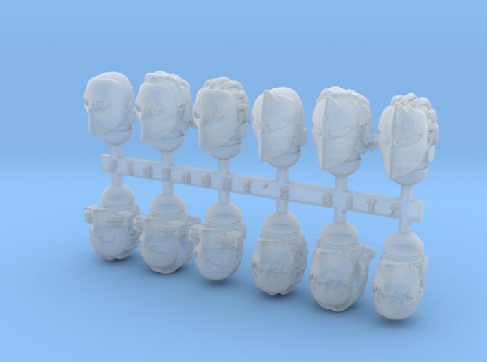 Pariah Masks x12 3d printed