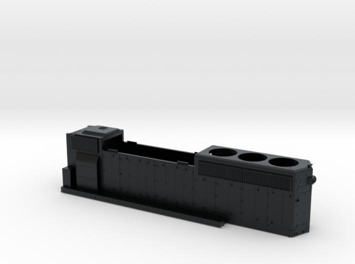 KCS796-799 GP40-2 HOOD 1/87.1 3d printed