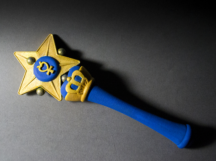 Mercury Star Wand 3d printed