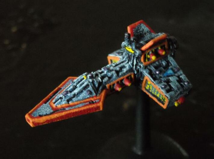 VA204 Burning Moon Light Cruiser 3d printed Painted model